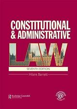 Constitutional & Administrative Law: (London External Edition), Hilaire Barnett,