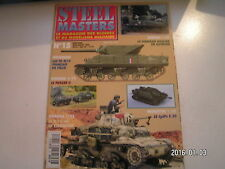 *** Revue Steel Masters n°15 Sherman et Jeep Willy's / Half Tracks de DCA lourde