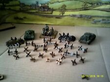 15mm Scale 10x Barbed Wire barricades 20 Czech Hedgehogs Tank Traps Scenery FOW