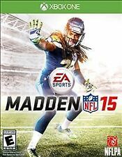XBOX ONE MADDEN 15 NFL FOOTBALL GAME FACTORY SEALED 2015