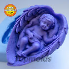 Soap Mold Baby Wings 2 3d Soap Mold Silicone Molds Mold for Soap Free Shipping
