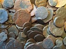LOT of 10 Mixed Roman and Greek Bronze coins from 300-400 A.D.