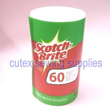 3M Scotch-Brite Lint Remover 60 Sheet Lint Roller Refill - 12 Rolls / No Handle