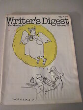 Writer's Digest February 1975. Tad Crawford! Barbra Howell! Carolyn Lane!