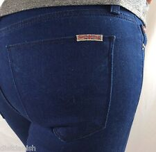 Hudson Women's Jeans Pants Mid Rise Super Skinny Blue Inseam 29 Size 24