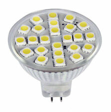 300LM MR16 G5.3 AC / DC12-24V Bombilla 24-5050 SMD LED lámpara brillante