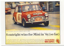 Mini Cooper Series I MODERN postcard issued by Vintage Ad Gallery