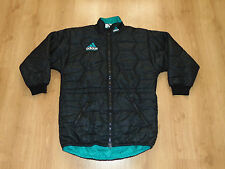 Adidas Equipment Men Rare Vintage Retro Old Long Jacket Jacke Winter Warm Padded