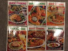 Taste Of Home's Quick Cooking Magazines, Lot Of 6, From 2001