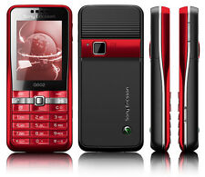Sony Ericsson G502 - Celerity red (Unlocked) Mobile Phone