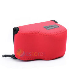 110x70x75mm Neoprene Soft Camera Case Pouch Bag for Sony NEX 5T/5R/3N A5000