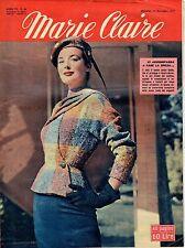 rivista MARIE CLAIRE ANNO 1954 NUMERO 46