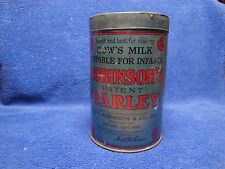 Robinson's Patent Barley, Safest and best for making Cow's Milk Suitable for Inf
