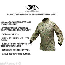 OPS / UR-TACTICAL GEN 2 Improved DA combat shirt in CRYE MULTICAM-LR