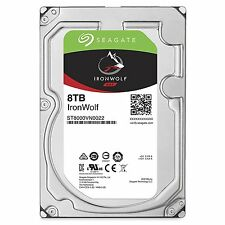 Seagate IronWolf NAS HDD 8TB ST8000VN0022 Festplatte 7200rpm 210MB/s NEU OVP