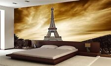 Eiffel Tower in Paris  Wall Mural Photo Wallpaper GIANT WALL DECOR PAPER POSTER