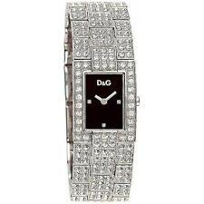 D&G Orologio Donna Dolce&Gabbana Acciaio C'est Chic Nero Cristalli 3719251037