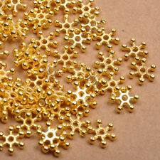 Wholesale Silver & Golden FLOWER DAISY Spacer BEADS - Choose 6MM,8MM,10MM