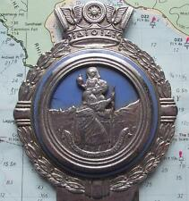 Original Vintage Car Mascot Badge Badge by Gaunt : St Christopher B