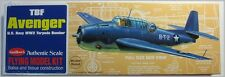 Guillows 509 Avenger Torpedo Bomber Wooden Flying Model Kit