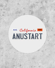 ANUSTART licence plate sticker! Arrested Development tobias funke blue myself