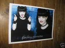 Pauley Perrette Abby Sciuto NCIS Goth Chick POSTER Poin