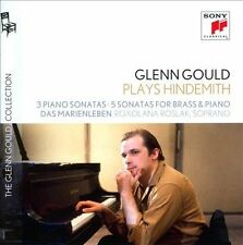 Glenn Gould Plays Hindemith: 3 Piano Sonatas; 5 Sonatas for Brass and Piano;...