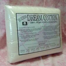 Quilters Dream Cotton Select Craft Size Batting - CLOSE OUT PRICING!