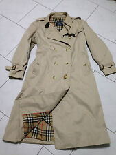 Burberry Mantel Trenchcoat Damen Gr. 40 beige