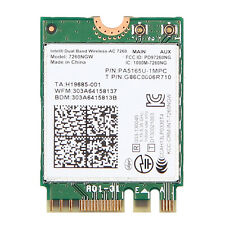 Intel Dual band Wireless-AC 7260 7260NGW Bluetooth BT4.0 NGFF 867Mbps Wifi Card