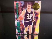Rare Christian Laettner Classic All-Rookie Basketball Team 1993 Card #317 Duke
