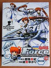 JAPAN Magical Girl Lyrical Nanoha Force 3 Limited Edition