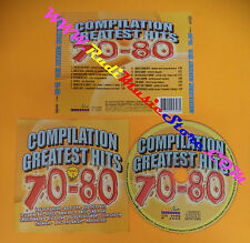 CD Compilation GREATEST HITS 70-80 TOTO SAVAGE GAZEBO no lp mc dvd vhs(C26)