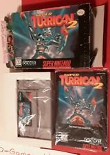 Super Turrican 2 (Super Nintendo, 1995), SNES, Actual pict, Fast ship, Authentic