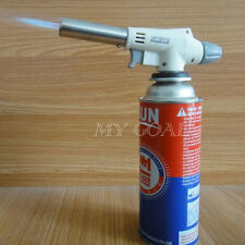 Gas Butane Flame Gun Blow Torch Burner Welding Solder Iron Soldering BBQ Lighter