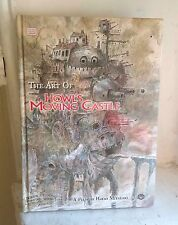 Art of Howl's Moving Castle by Hayao Miyazaki Hardcover Book (English)