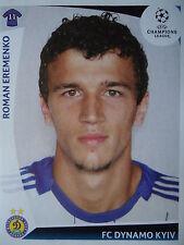 Panini 390 Roman Eremenko Dynamo Kyiv Kiew UEFA CL 2009/10