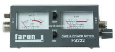 CB RADIO ANTENNA SWR WATT POWER METER FARUN FS 222
