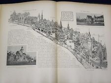 1900 L'EXPOSITION DU SIECLE FRENCH BOOK BY A. QUANTIN - GREAT PHOTOS - KD 1700