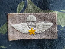 ORIGINAL GENUINE VIETNAM WAR ARVN PARA WINGS PARATROOPER JUMP BADGE PATCH SF
