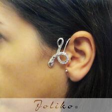 JoliKo Ohrklemme Ear cuff Kristalle Viper Schlange Cristal Snake Reptilien LINKS