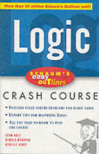Schaum's Easy Outline of Logic: Based on Schaum's Outline of Theory and Problems