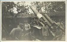 Fotografia militare d'epoca Isola Morosini Obice da 305 WWI Isonzo San Canzian