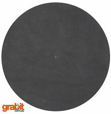 Pro-Ject LEATHER-IT vinyl record turntable platter anti-static mat- Brand New