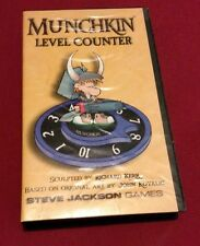 Munchkin Metal Level Counter Steve Jackson Games Rare Item Out of Print