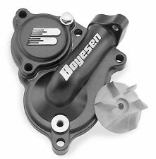 BOYESEN HI FLOW WATER PUMP COVER IMPELLER KAWASAKI WPK-18B KX450F BLACK