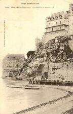 MONT-SAINT-MICHEL 2314 le port et le musée coll germain