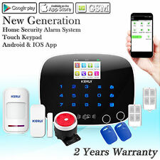 KERUI G19 GSM RFID Wireless&Wired Home House Burglar Security Alarm System Kit