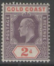 GOLD COAST SG51 1904 2d DULL PURPLE & ORANGE-RED MTD MINT