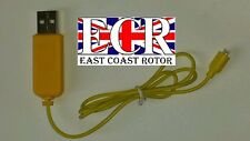 NEW AVATAR Z008 RC HELICOPTER PARTS & SPARES USB CHARGER LEAD